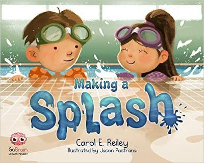 Books That Heal Kids: Book Review: Making a Splash -- Awesome growth mindset book!