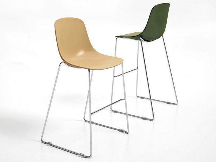 High sled base stool PURE LOOP BINUANCE | Stool - Infiniti by OMP Group