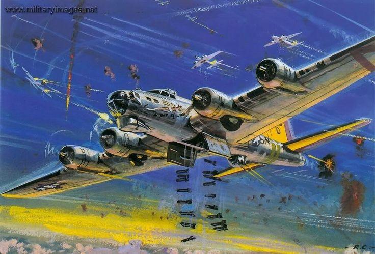 Roy Cross - B-17 Flying Fortress (Rough Draft)
