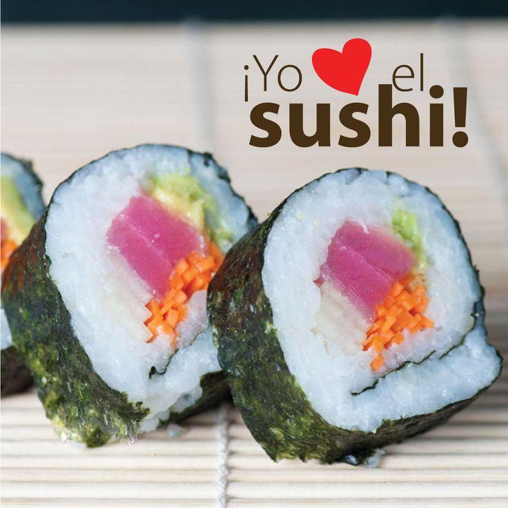 ¡Like si amas el sushi! ¡Viernes de sushi & amigos en @FUSIONWOK!