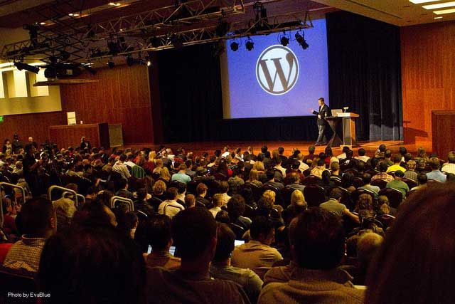 WordCamp - attend a WordPress mini-conference - #geek
