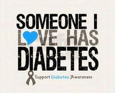 November 14th is World Diabetes Day and November is Diabetes Awareness Month
