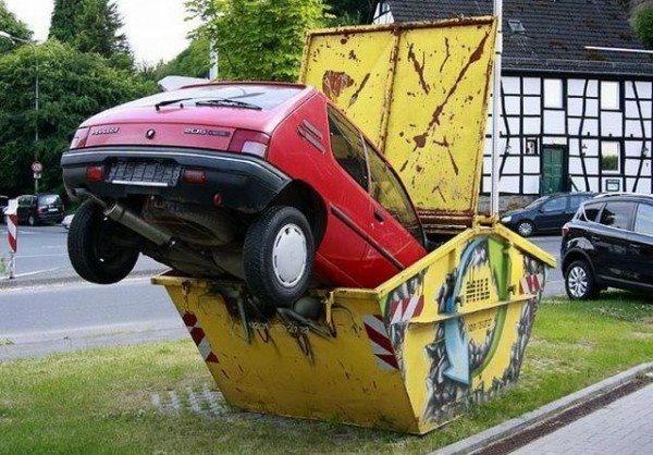 Neue EU-Richtlinie: So recyclet ihr euren Gebrauchten richtig! ;)