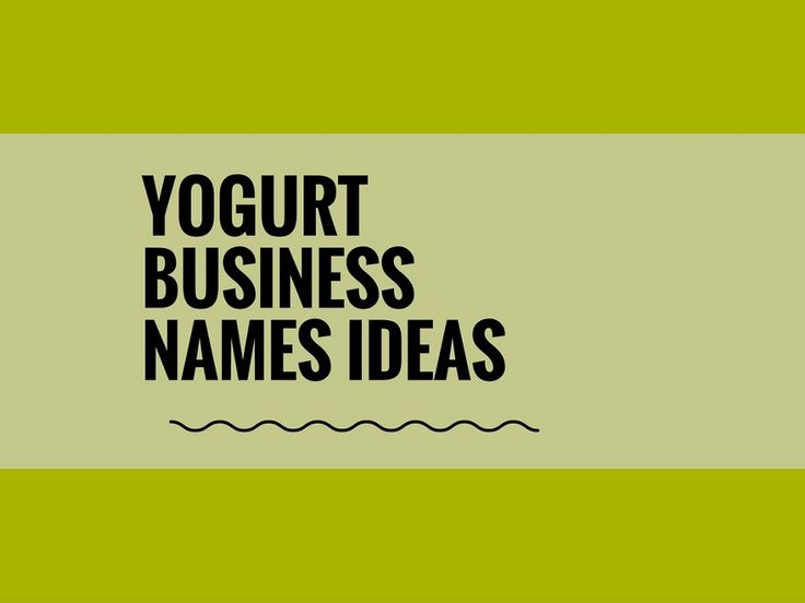 While your business may be extremely professional and important, choosing a creative company name can attract more attention.A Creative name is the most important thing of marketing. Check here creative, best Yogurt Business names ideas for your inspiration.