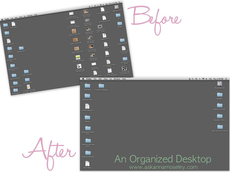 How to Organize Emails & Computer Desktop - Ask Anna