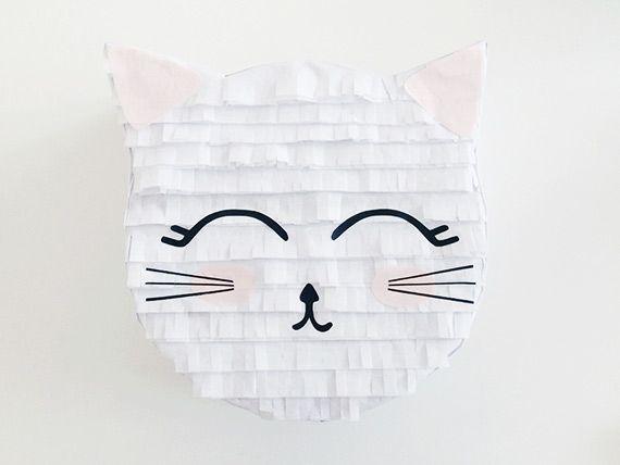DIY Kitty Piñata Tutorial on 100 Layer Cakelet