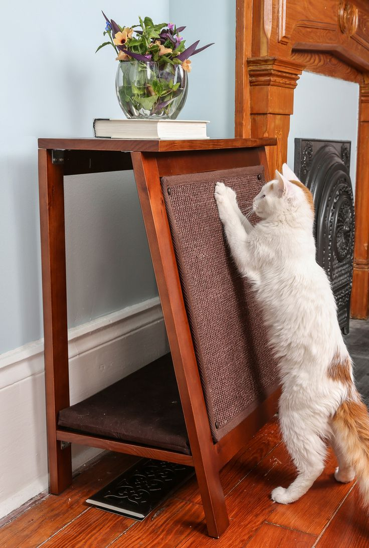best cat furniture images on pinterest  cat furniture cat  - the aframe cat bed combines attractive features for both you and yourfavorite feline part comfortable bed part durable scratcher the aframecat bed
