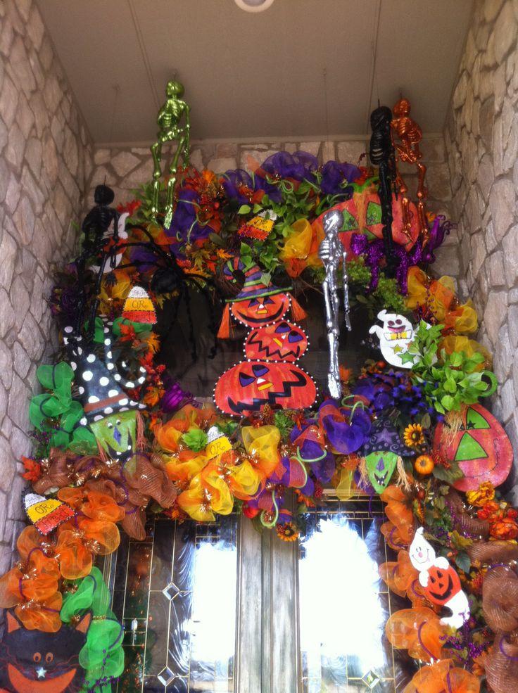 halloween door decorations wow oh wow