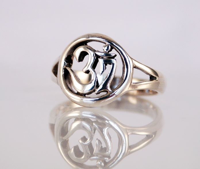 Sterling Ohm Ring