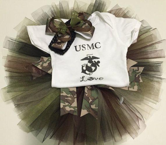 USMC Love TuTu set
