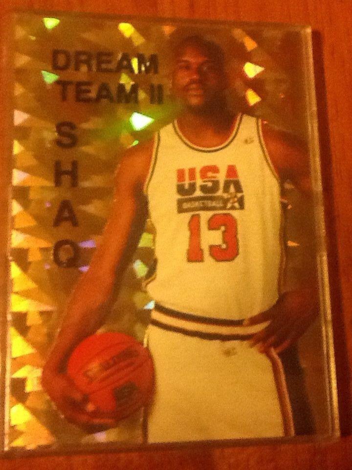 1994-95 SHAQUILLE O'NEAL SPORTS STARS USA GOLD FOIL /10000, SHAQ DREAM TEAM 2 II #OrlandoMagic