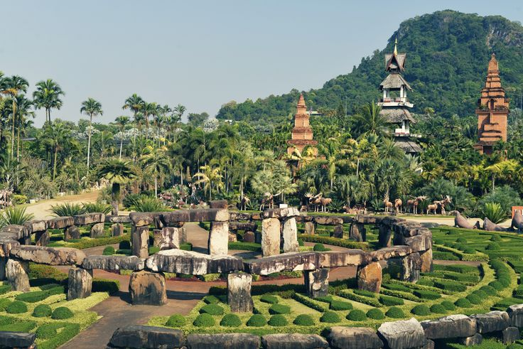 Nong Nooch Botanical Tropical Garden in Pattaya, Thailand