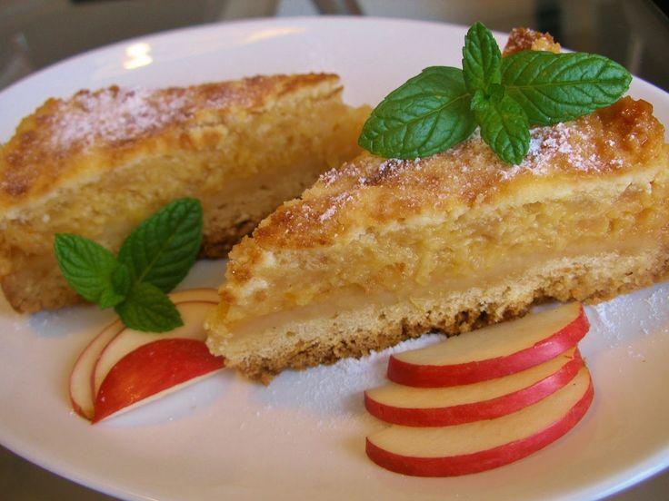 V kuchyni vždy otevřeno ...: Šťavnatý jablečný koláč