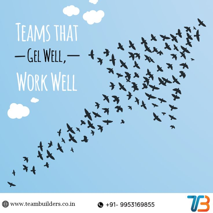 Reinforce your organisation's group synergy and polish their interpersonal skills. Help your team visualise the common goal to work in unison for a better efficiency. Connect with Team Builders to know how to integrate your team. Call 09953169855 or visit www.teambuilders.co.in .