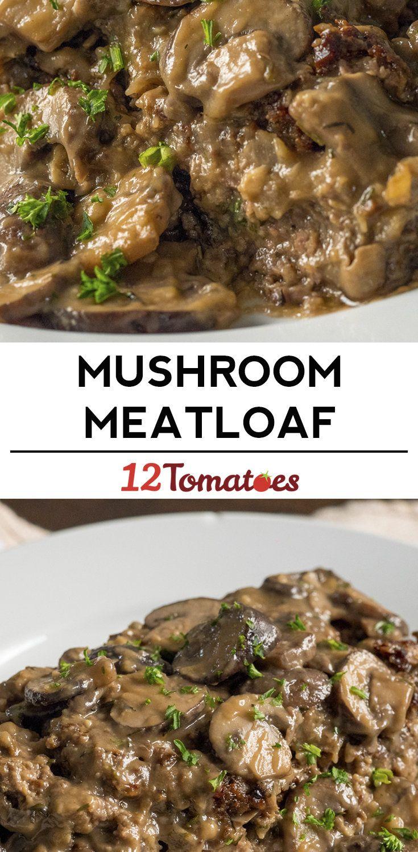 Mushroom Gravy Meatloaf