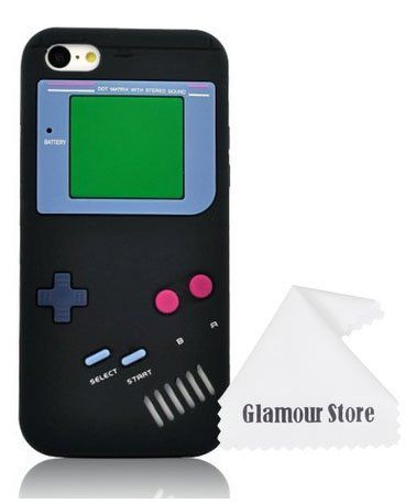 PRODUCT DETAILS : iPhone 6 Case,Retro 3D Game Boy Gameboy Design Style Soft Silicone Cover Case For New Apple iPhone 6 6G 4.7 inch,Not Fit For Apple iPhone 6 Plus [ ]