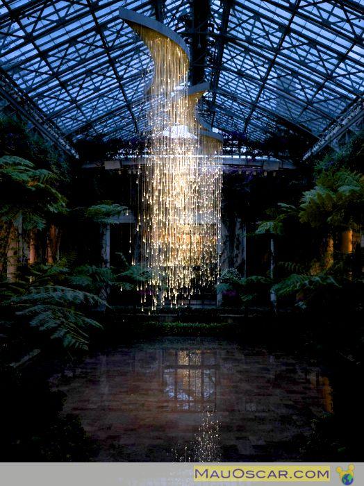 Light Shower Longwood Gardens