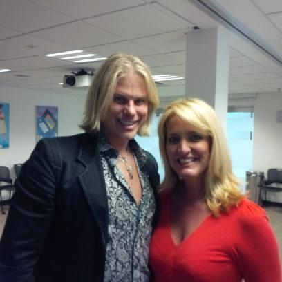 Gorgeousness comes together with our VP Julian Koch and HSN host Kathy Wolf.