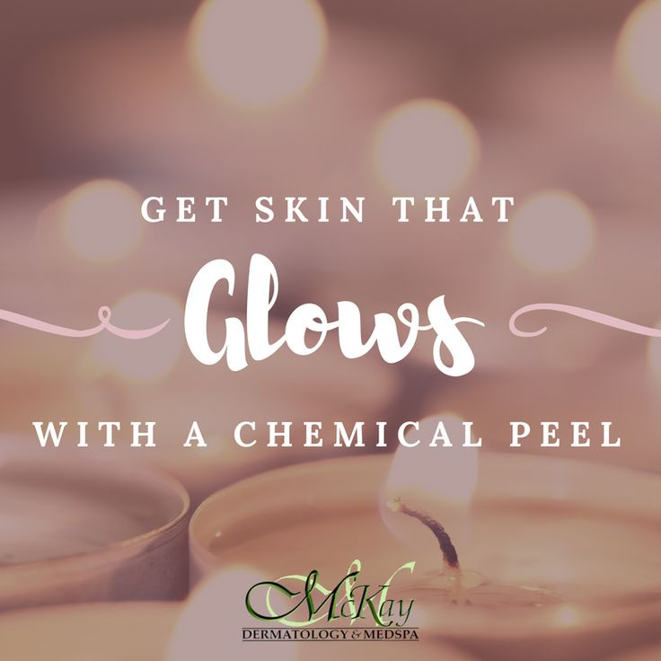 Because who doesn't want radiant, bright skin?! ✨😍 Schedule a chemical peel today by calling (772) 283-0109! Your beautiful skin awaits!
