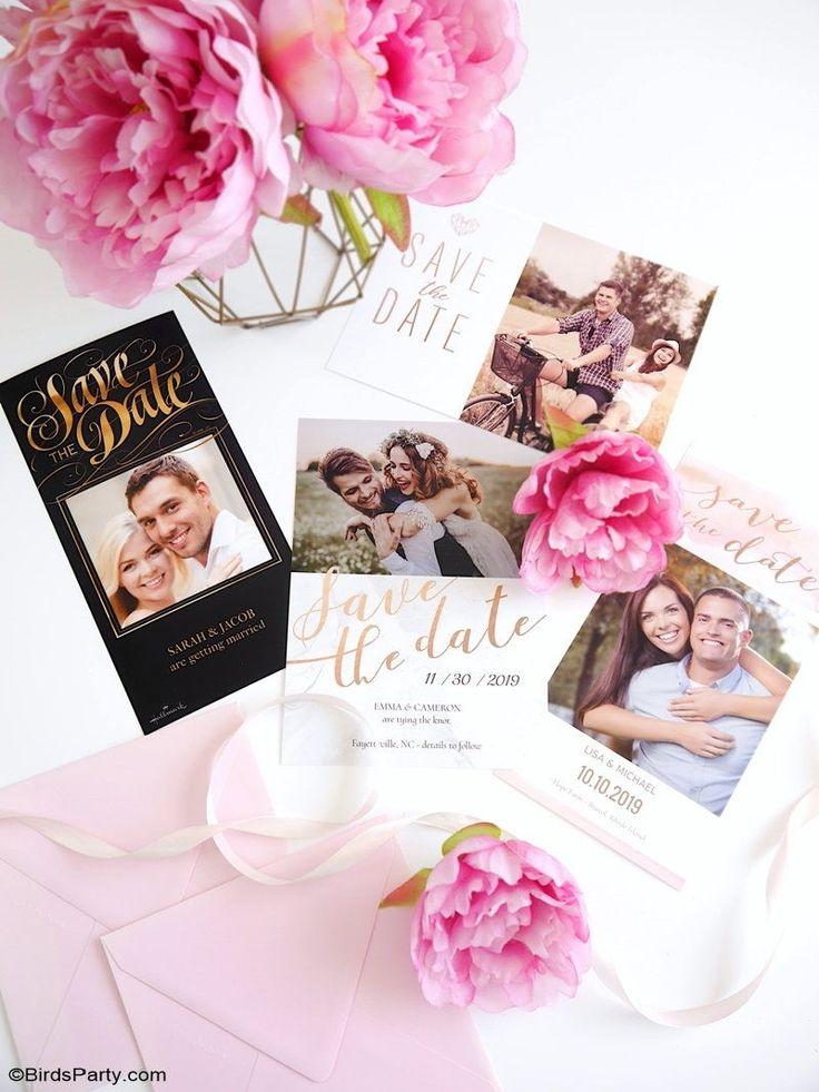DIY Hochzeit Briefpapier & Dekor