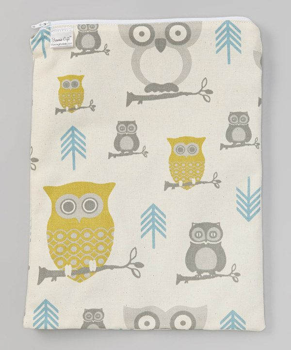 Brownie Gifts Natural Owl Wet Bag