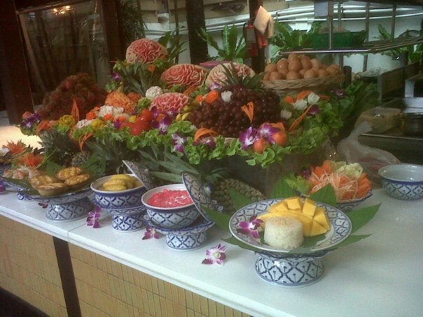 Janis Amacio's I love Burasari! ;)  That's a resort in Phuket, Thailand.   Did you see the mango and sticky rice?
