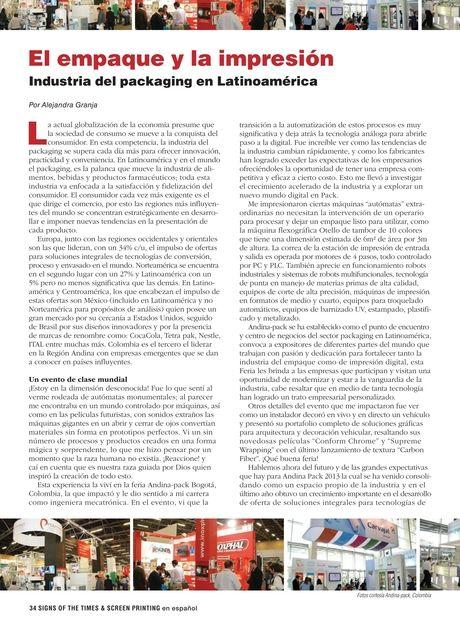 S&S - Junio/Julio 2013 - Page 34