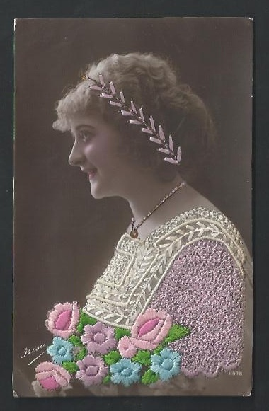 girl flowers headband 2978 frisa.jpg (380×581) 1916