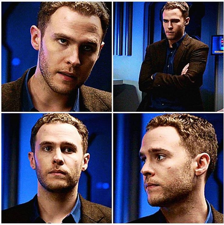 crushes forward... Iain De Caestecker Shield