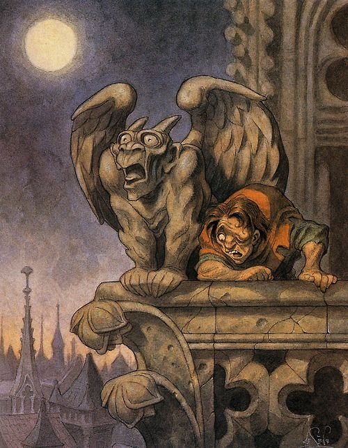 Quasimodo Concept Art - The Hunchback of Notre Dame