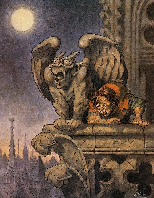 Quasimodo Concept Art - The Hunchback of Notre Dame