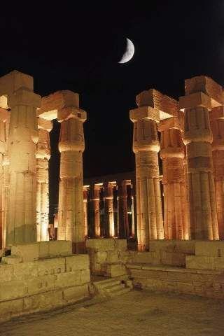 Ägyptologie, Säulengang, Mystisch, Säulengänge