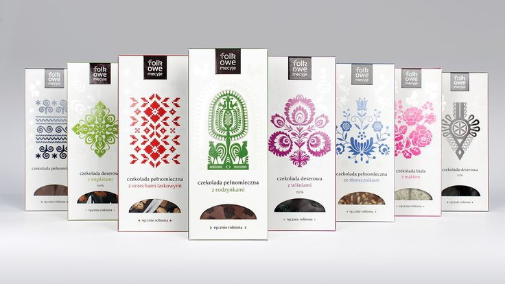 Chocolate Folkowe Mecyje on Packaging of the World - Creative Package Design Gallery