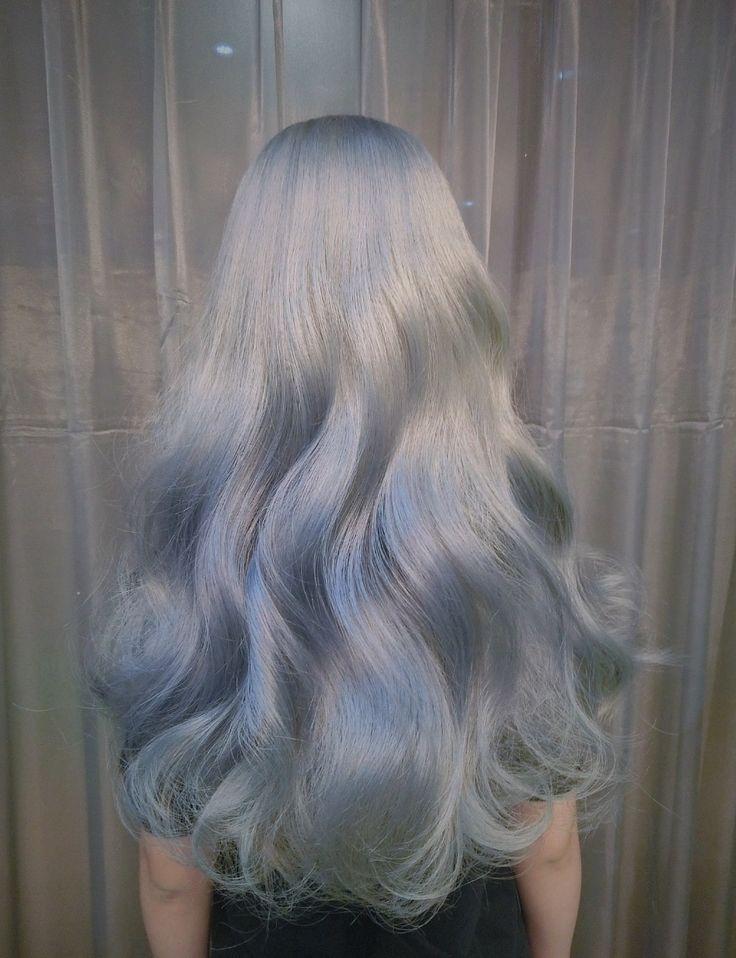pathetic aesthetic silver hair