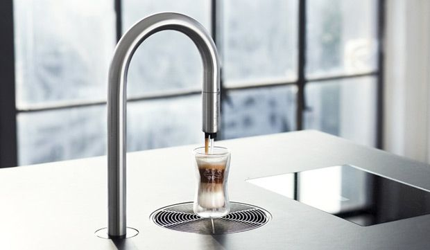 So want this.  iPhone Ordered Barista Coffee from a Faucet: The TopBrewer Coffee Maker | Design.org