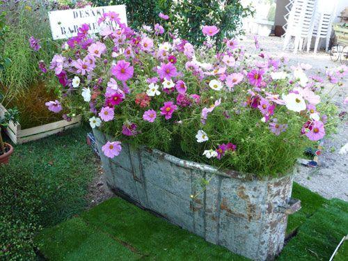 Les 25 meilleures idées concernant jardinières fleuries sur ...