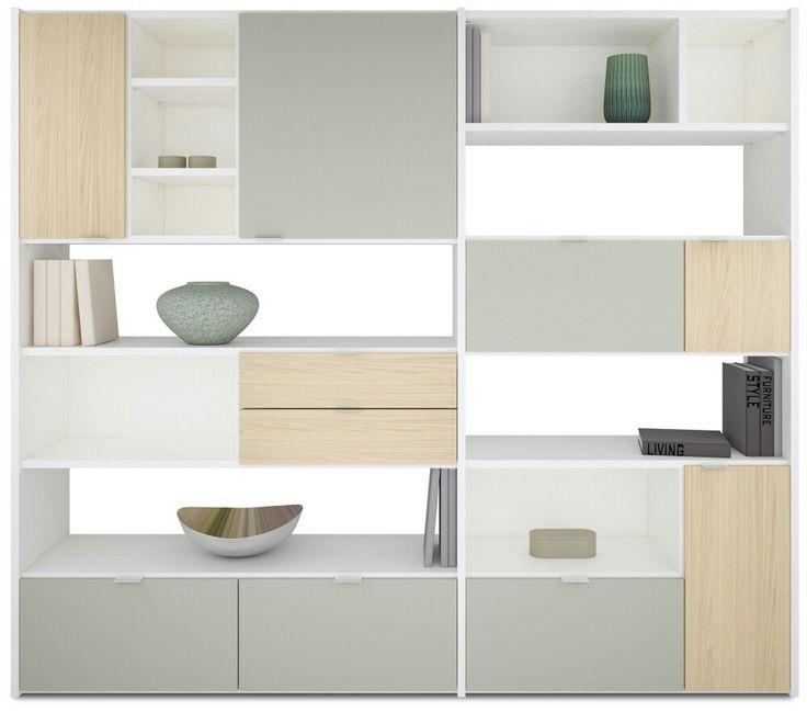 Bookshelves, Bookshelf Styling, Interior Modern, Furniture Design, Modern  Furniture, Shelf Design, Cabinet Design, Living Rooms, Room Dividers