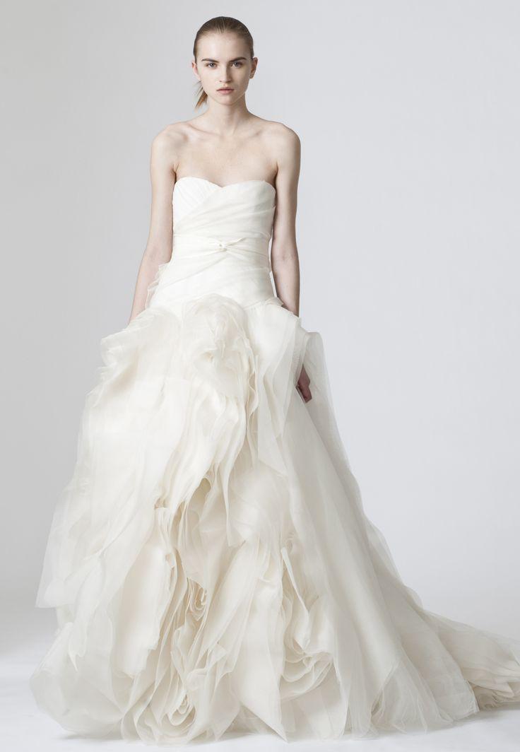 Vera Wangのウェディングドレス、ブライダルガウン