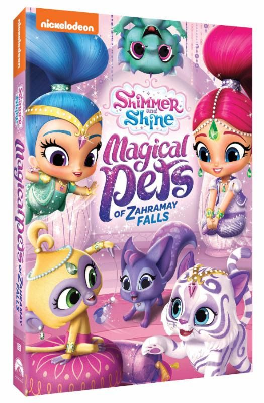 Shimmer and Shine: Magical Pets of Zahramay Falls DVD Giveaway