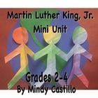 Martin Luther King Jr.  Art and activities mini unit! This 25-page mini unit contains printables and two culminating art projects.  This mini unit ...