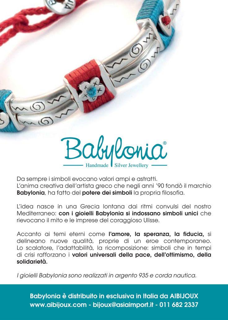 I gioielli Babylonia sono realizzati in argento 935 e corda nautica. Made in Greece! http://www.aibijoux.com/designer/babylonia/ #Babyloniagioielli #finesilverjewelry #AIBIJOUX #bijoux #grecia #greece