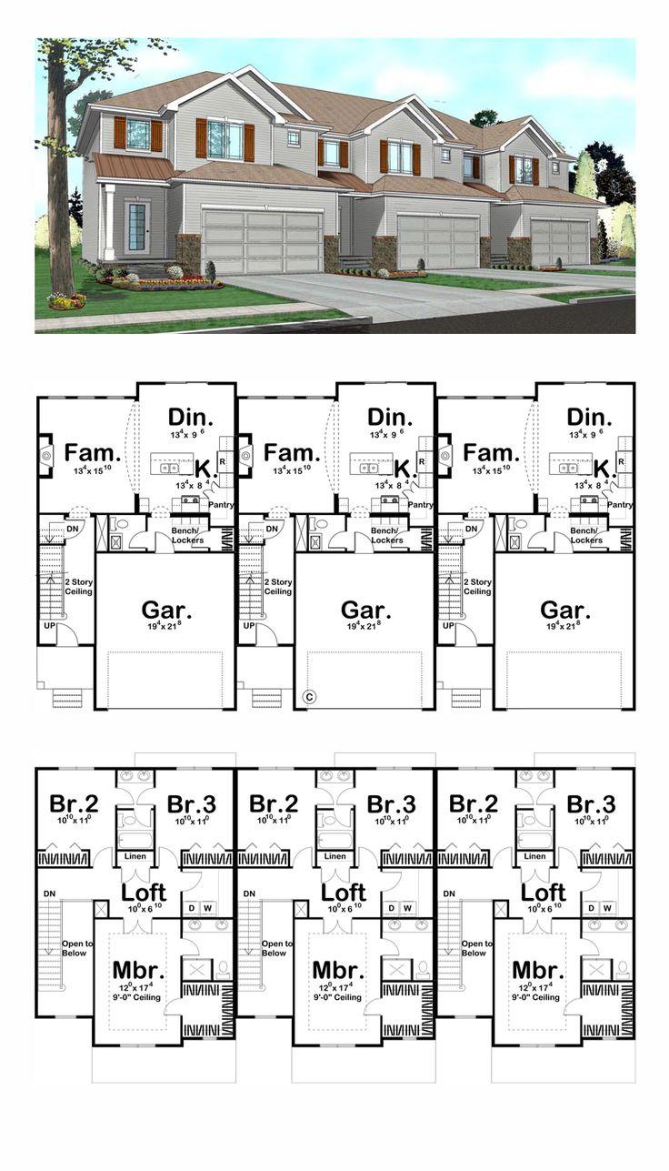 Best 25 duplex plans ideas on pinterest duplex house - Duplex construccion ...