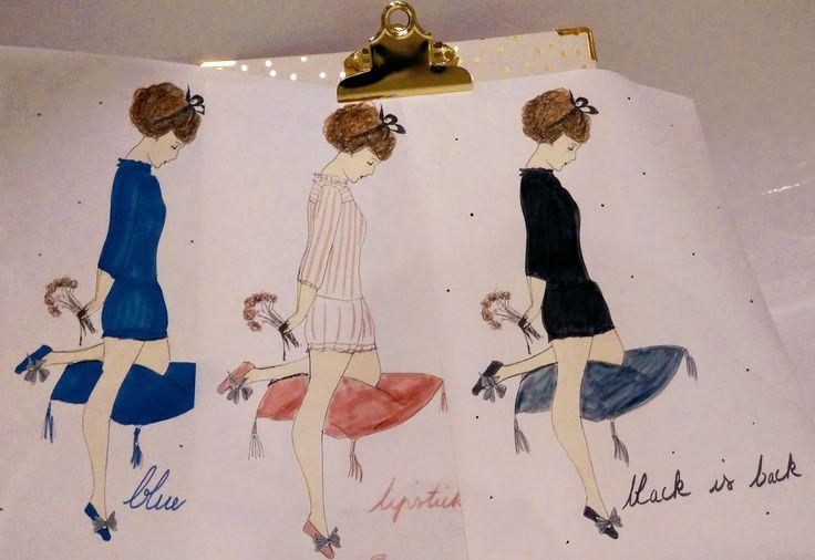 La mode des blouses du soir, by @71bis #lingeriedenuit #frenchbrand #readytowear #readytosleep