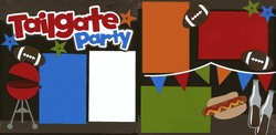 Tailgate Party Page Kit  Out on a Limb ScrapbookingScrapbook Ideas, Scrapbook Inspiration, Scrapbooking Cards, Football Layout, Scrapbooking Sports, Scrapbook Layout, Limb Scrapbook, Tailgating Parties, Tailgate Parties