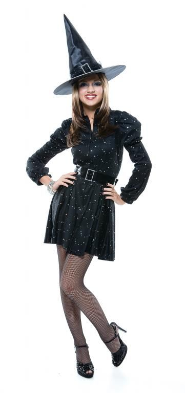Teen Dazzling Witch Costume