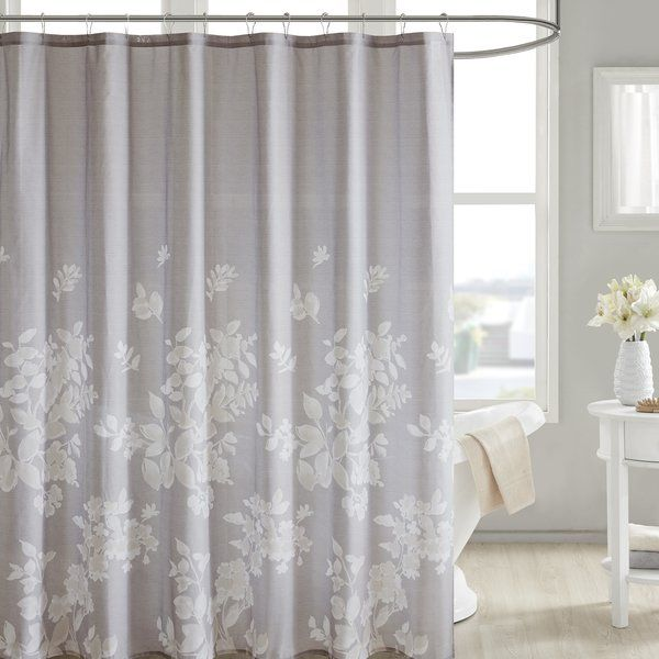 Kinsman 100 Cotton Single Shower Curtain With Images Floral
