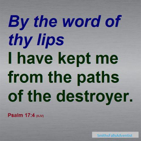 Scripture taken from 1 John 5 verse 12