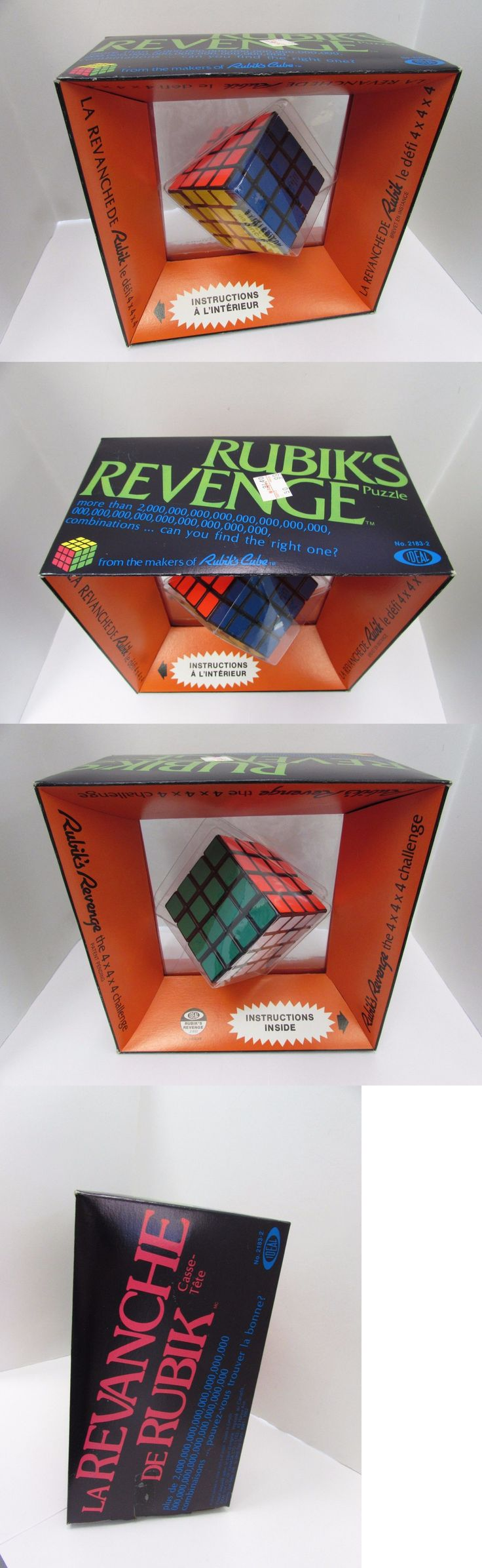 Brain Teasers and Cube Twist 19187: Rubik S Revenge | *New* 4X4x4 Challenge Cube Puzzle Ideal Vintage Nib -> BUY IT NOW ONLY: $33.99 on eBay!