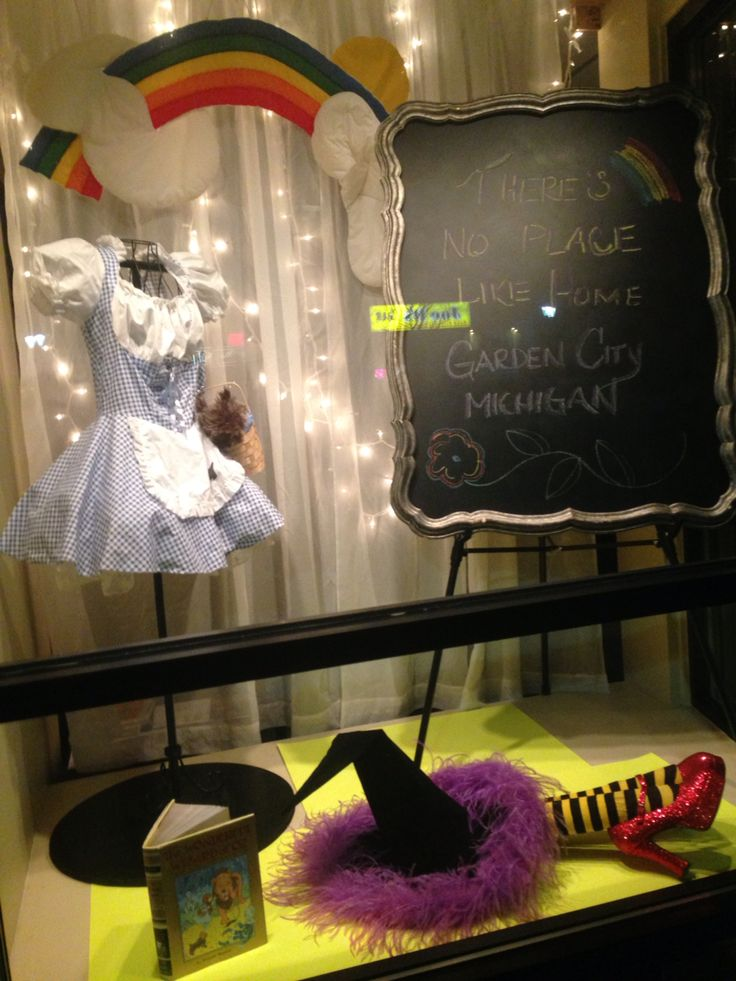Reading month display. The Wizard of Oz Garden City, MI