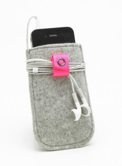 Filt iphone etui, pink
